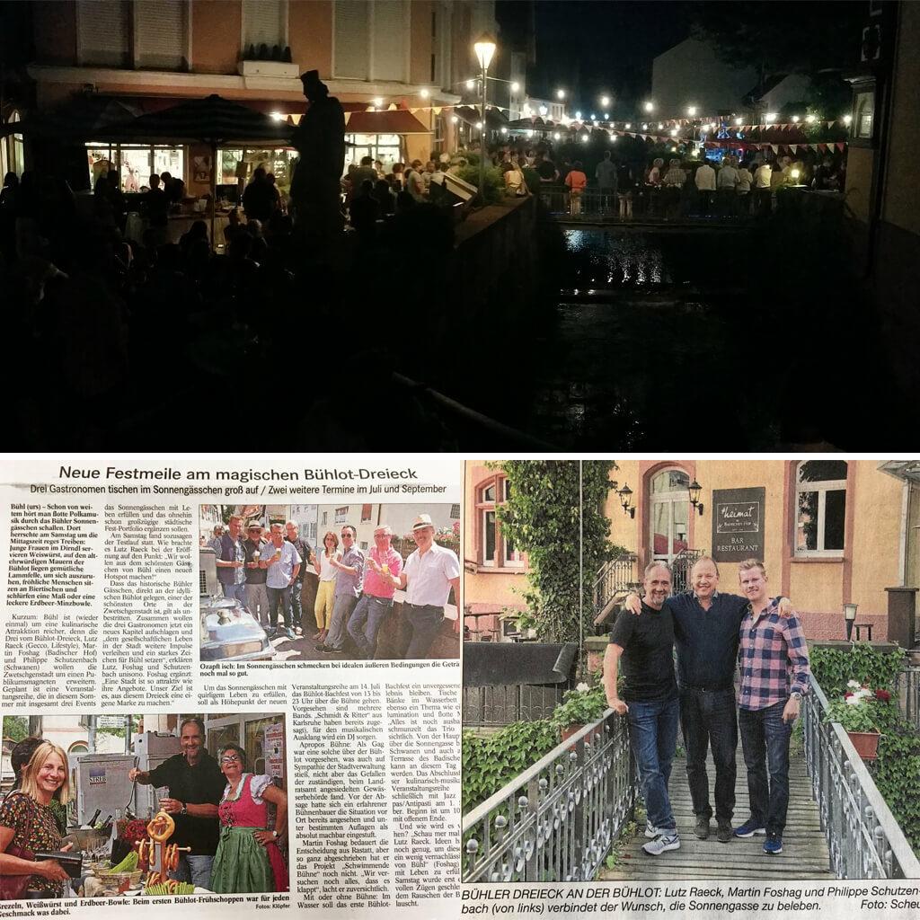 gecco Bühl veranstaltet grosses Bachfest für Kulturszene