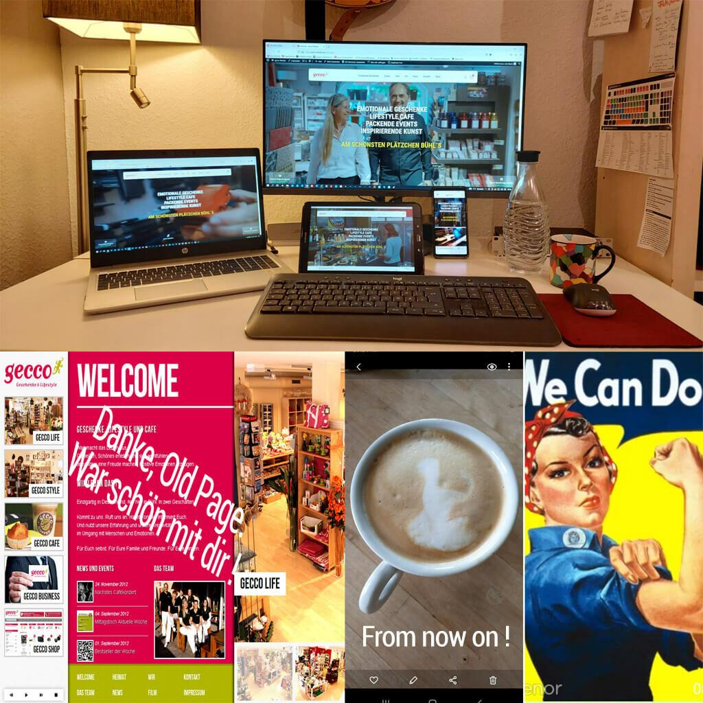 gecco bekommt eine neue Homepage